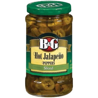 B&G - Hot Jalapeno Peppers Sliced - 1 x 355 ml