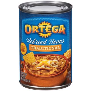 Ortega - Refried Beans Traditional - 1 x 453 g