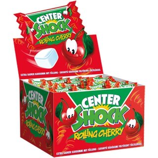 Center Shock - Rolling Cherry, 100 Stück (400g)