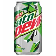 Mountain Dew - Classic DIET - 1 x 355 ml