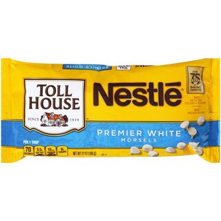 Nestle - Toll House White Chocolate Morsels - 1 x 340 g