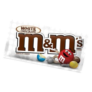 M&Ms - White Chocolate  - 1 x 42,5g