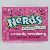 Nerds Strawberry Mini - 1 x 14,5g
