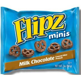Flipz Minis - Milk Chocolate (56g)