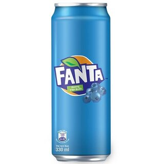 Fanta - Blueberry - 1 x 330 ml