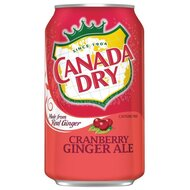 Canada Dry - Cranberry Ginger Ale - 1 x 355 ml
