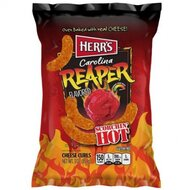 Herrs - Caroline Reaper Cheese Curls ( Scorchin Hot ) 1 x...