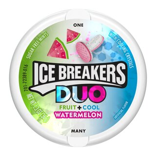 Ice Breakers Duo Fruit + Cool Watermelon - 1 x 36g