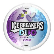 Ice Breakers Duo Fruit + Cool Grape - 1 x 36g