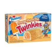 Hostess Twinkies 10x Orange Crème Pop - 1 x 385g