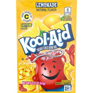 Kool-Aid Drink Mix - Lemonade - 1 x 6,5g