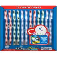 Jolly Rancher Candy Canes - Green Apple, Blue Raspberry,...