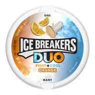 Ice Breakers Duo Fruit + Cool Orange - 1 x 36g