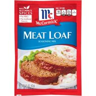 McCormick - Meat Loaf Seasoning Mix - 1 x 42 g