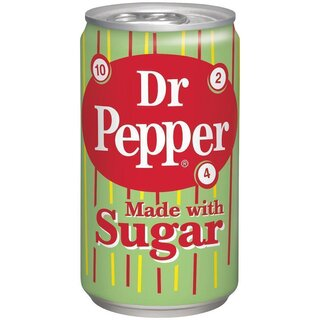 Dr Pepper - Made with Sugar - 3 x 355 ml