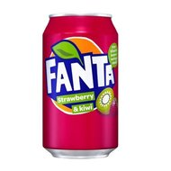 Fanta - Strawberry & Kiwi - 3 x 330 ml