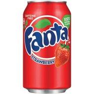 Fanta - Strawberry - 3 x 355 ml