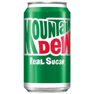 Mountain Dew - Real Sugar - 3 x 355 ml