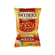 Snyders of Hanover - Honey Mustard & Onion - 3 x 125g