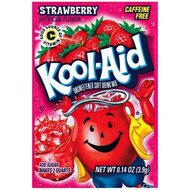 Kool-Aid Drink Mix - Strawberry - 3 x 4,2 g