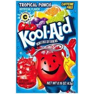 Kool-Aid Drink Mix - Tropical Punch - 3 x 4,2 g