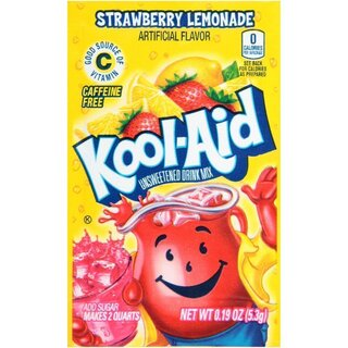 Kool-Aid Drink Mix - Strawberry Lemonade  - 3 x 5,3 g