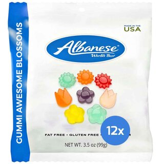 Albanese - Gummi Awesome Blossoms - 12 x 100g