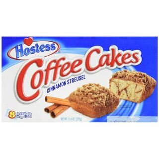 Hostess - Coffee Cakes Cinnamon Streusel - 1 x 329g