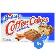 Hostess - Coffee Cakes Cinnamon Streusel - 6 x 329g