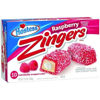 Hostess - Zingers Raspberry - 1 x 380g