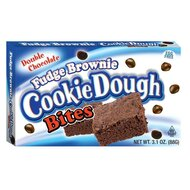 Cookie Dough - Fudge Brownie Bites - 1 x 88g