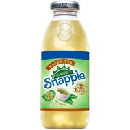 Snapple - Green Tea Glasflasche - 1 x 473 ml