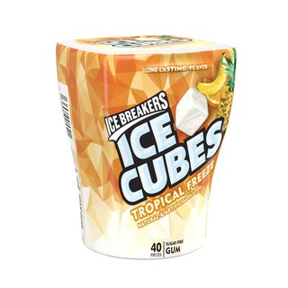 Ice Breakers - Ice Cubes Tropical Freeze - Sugar Free - 1 x 40 Stück