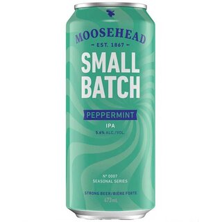 Moosehead -Small Batch Peppermint  5.6% Alc. - 12 x 473 ml