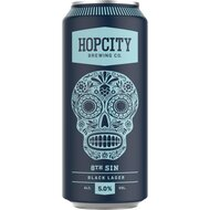 Hopcity - 8th Sin Black Lager - 5% Alc. - 1 x 473 ml