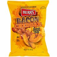 Herrs - Bacon Cheddar Curls - 1 x 184g