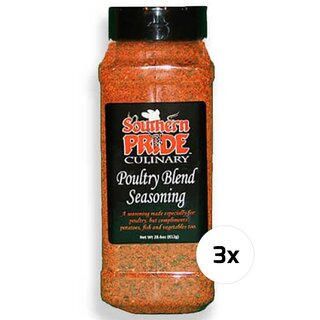 Southern Pride - Poultry Blend Seasoning 3 x 812g
