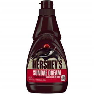 Hershey´s - Sundae Dream Double Chocolate Syrup - 1 x 425g