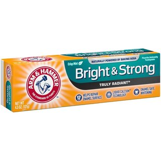Arm & Hammer - Bright & Strong Crisp Mint Toothpaste - 1 x 121g