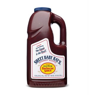 Sweet Baby Rays - BIG PACK - Original Barbecue Sauce - 1 x 3,79 Liter