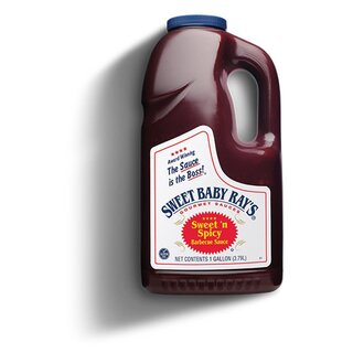 Sweet Baby Rays - BIG PACK - Sweet´n Spicy Barbecue Sauce - 1 x 3,79 Liter