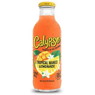 Calypso - Tropical Mango Lemonade - Glasflasche - 1 x 591 ml