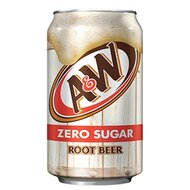 A&W - Root Beer Zero Sugar - 355 ml