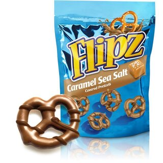 Flipz - Caramel Sea Salt - 141g