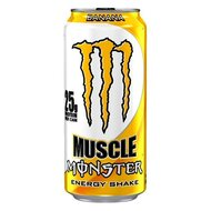 Monster USA - Muscle Energy Shake - Banana - 443 ml