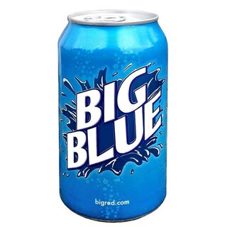 Big - Blue Soda - 1 x 355 ml