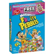 Post - Marshmellow & Fruity Pebbles Cereals - 1 x 311g