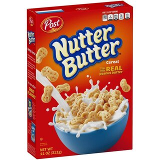 Post - Nutter Butter Cereals with real Peanut Butter - 311g
