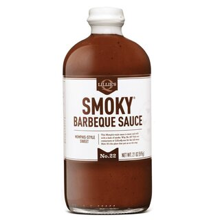 Lillie´s - Smoky Barbeque Sauce - 1 x 595ml