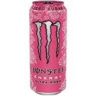 Monster USA - Zero - Ultra Rosá Energy - 1 x 473 ml